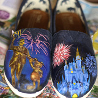 Disney TOMS Partners statue Find them only at www.danoflorez.storenvy.com