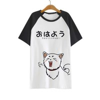Gintama Silver Soul Cute Kawaii T-Shirt