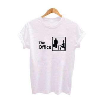The Office Graphic Tees Women Summer Funny Tv Show T-shirt Fashion Harajuku tshirt Tumblr Hipster T shirt Women Clothing