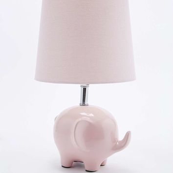 Elephant Lamp EU Plug in Pink - Urban Outfitters