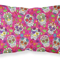 Day of the Dead Pink Fabric Standard Pillowcase BB5115PILLOWCASE