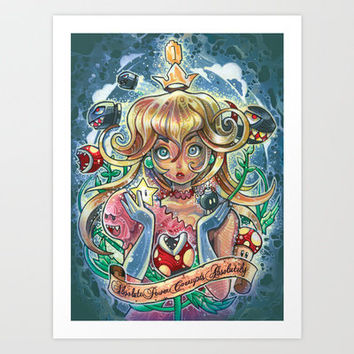 absolute power corrupts absolutely Art Print by Tim Shumate