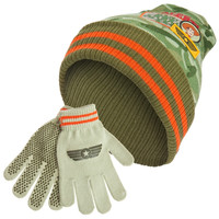 Toy Story - Soldiers Kids Knit Hat And Gloves Set