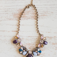 Melanie Colored Statement Necklace