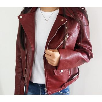 Leather - Women's Leather Jacket