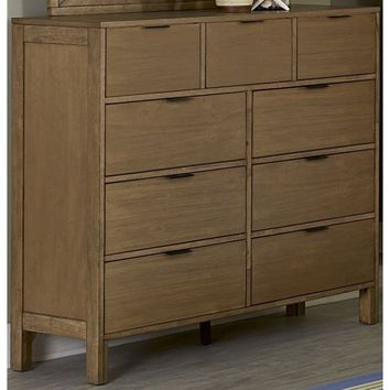 Strategy Transitional Drawer Dresser Jute