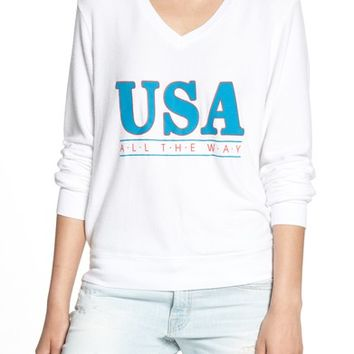 Wildfox All the Way Baggy Beach Pullover   Nordstrom