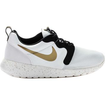Roshe Run Hyperfuse Premium QS World Cup Gold Trophy Men's Lifestyle Shoe (Ivory/Metallic Gold-Black) Limit 1 Per Customer