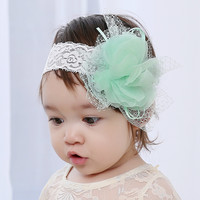 Floral Lace Hair Band for Baby Headwear