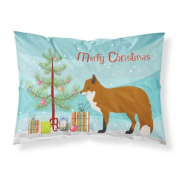 Red Fox Christmas Fabric Standard Pillowcase BB9243PILLOWCASE