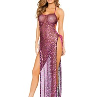 Roma Costume Female 1Pc Dress With Tie Side Straps LI131