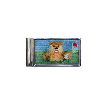 Caddyshack Needlepoint Money Clip by Smathers & Branson