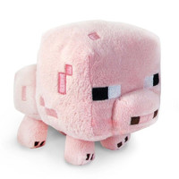 high quality Minecraft Plush Toys Stuffed Plush Toys Minecraft PIG Animal Plush Toys pink 16CM for Kids Plush Toys Dolls