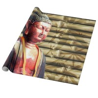 Asia Buddha Wrapping Paper