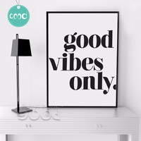 Inspiration Quote Canvas Painting Poster, Wall Pictures For Home Decoration Print On Canvas, Frame not include FA143