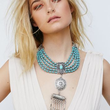 Free People Lost Highway Statement Pendant