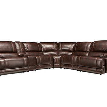 Dowling 6-pc. Power-Reclining Sectional Sofa | Sectional Sofas | Raymour and Flanigan Furniture