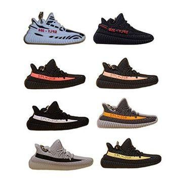 YEEZY BOOST SPLY 350 v2 - 8 Pack - Silicone Rubber Keychains