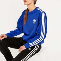 adidas Classic Blue Sweatshirt - Urban Outfitters