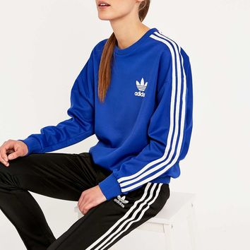 free shipping best prices new specials adidas Classic Blue Sweatshirt - Urban from Urban Outfitters