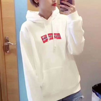 PEAPUF3 Supreme' Casual Fashion Sport Monogram Print Long Sleeve Sweater G-A-GHSY-1