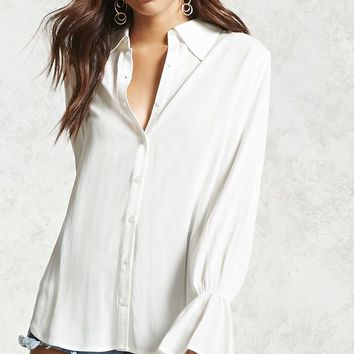 Contemporary Ruffle Shirt