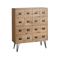 Oak Wood Pharmacy Chest