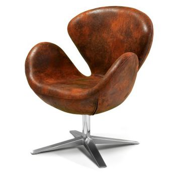 Best Selling Home Decor Modern Brown Petal Chair - Accent Chairs at Hayneedle