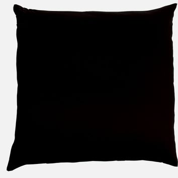 J-Life Black Ultra Sateen Zabuton Floor Pillow