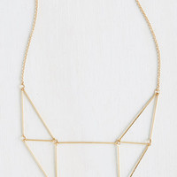 ModCloth Urban Prism She Lovely Necklace