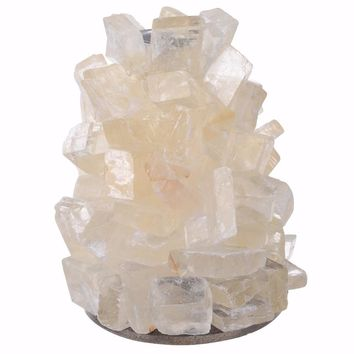 Utterly Gorgeous Quartz Stone Candle Holder , Natural