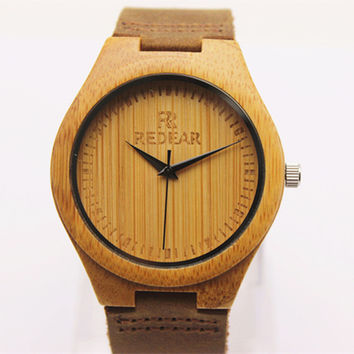 Wooden Bamboo Wristwatch for Men