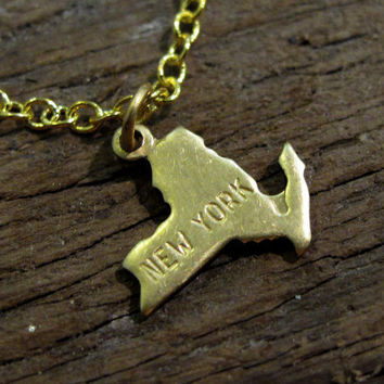 New York State - Charm Necklace