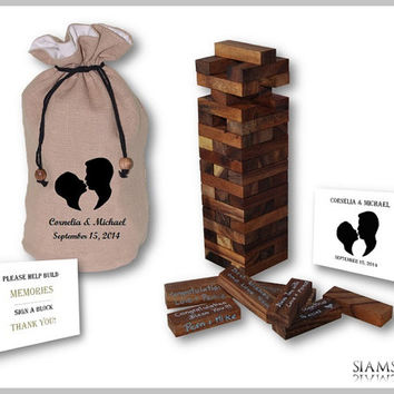 Wedding Guest Book Alternative - 120 Building Blocks