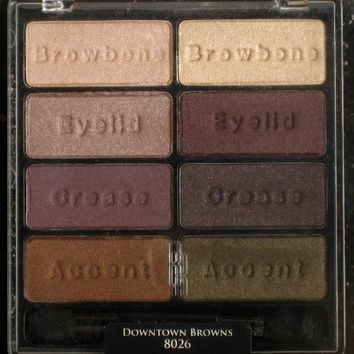Black Radiance Eye Appeal Shadow Collection, Downtown Browns, 0.3 Ounce