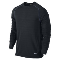 Nike Dri-FIT Sprint Crew Men's Running Shirt Size XXL (Black)