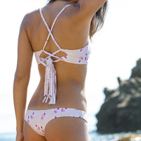 The Girl and The Water - ACACIA Swimwear - Samoa Bikini Top / Island Orchid - $110