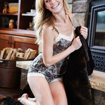 Mossy Oak Break-Up® COUNTRY® Lace - Trimmed Camisole