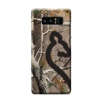 Love Browning Deer Camo Real Tree Couple 2 Samsung Galaxy Note 8 case