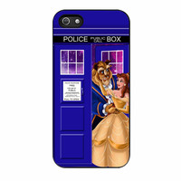 Beauty And The Beast Disney Tardis Police Box iPhone 5s Case