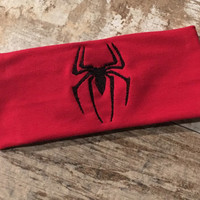 Spiderman Unisex Workout Headband - no slip headband, crossfit, running, cycle, yoga, sports