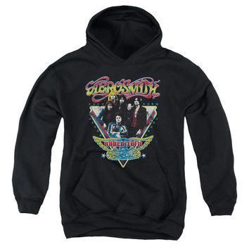 Aerosmith - Triangle Stars Youth Pull Over Hoodie