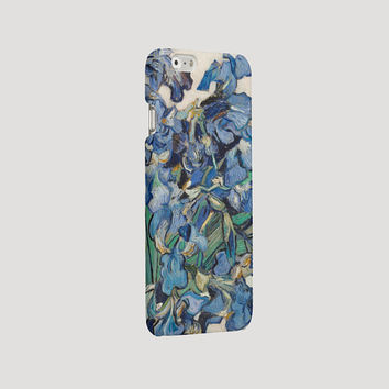Vincent van Gogh phone case iPhone case for iPhone 6 Plus case classic art iPhone 5s cover irises iPhone 4 case Samsung Galaxy S4 S5 S6 case
