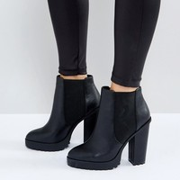 ASOS ETERNAL Chelsea High Ankle Boots at asos.com