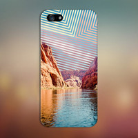 Colorado River x Geometric Sky Design Case for iPhone 6 6 Plus iPhone 5 5s 5c iPhone 4 4s Samsung Galaxy s6 s5 s4 & s3 and Note 4 3 2