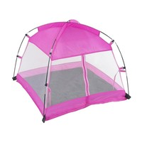 18 Inch Doll Accessories | Amazing Pink Dining Canopy Camping Tent