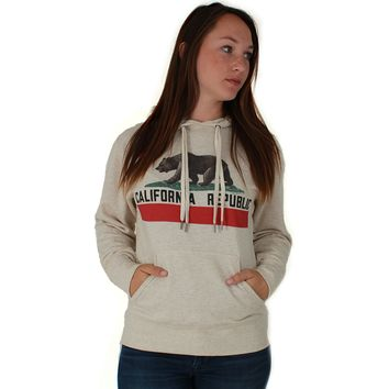California Republic Premium Unisex Sweatshirt Hoodie With Thumb Loop