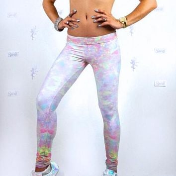Abstract Opalescence Leggings