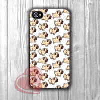 Pug Pattern - Fzia for iPhone 4/4S/5/5S/5C/6/ 6+,samsung S3/S4/S5,samsung note 3/4