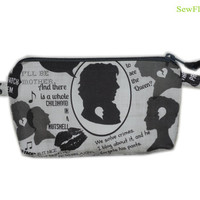 NEW Sherlock Cosmetic Case | Pencil Case | Makeup Bag | Zipper Bag